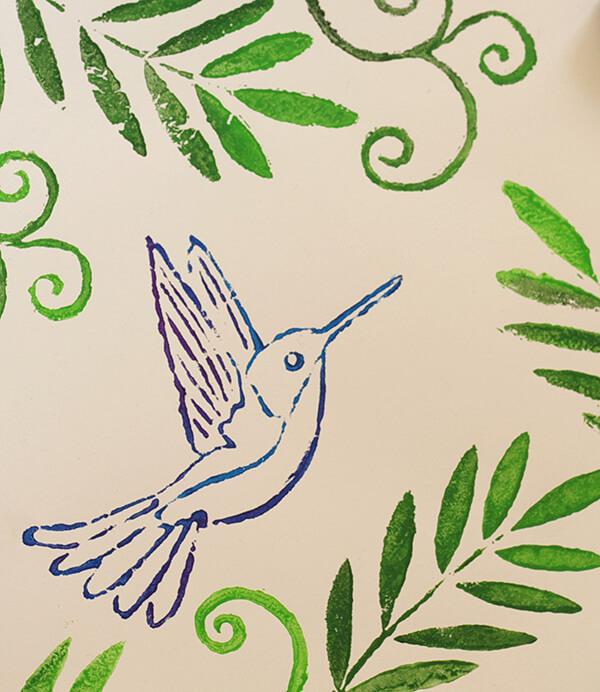 Kolibri nyomdázó