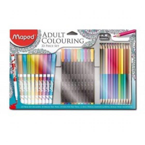 Karácsonyi ajándék tippek: felnőtt színező készlet